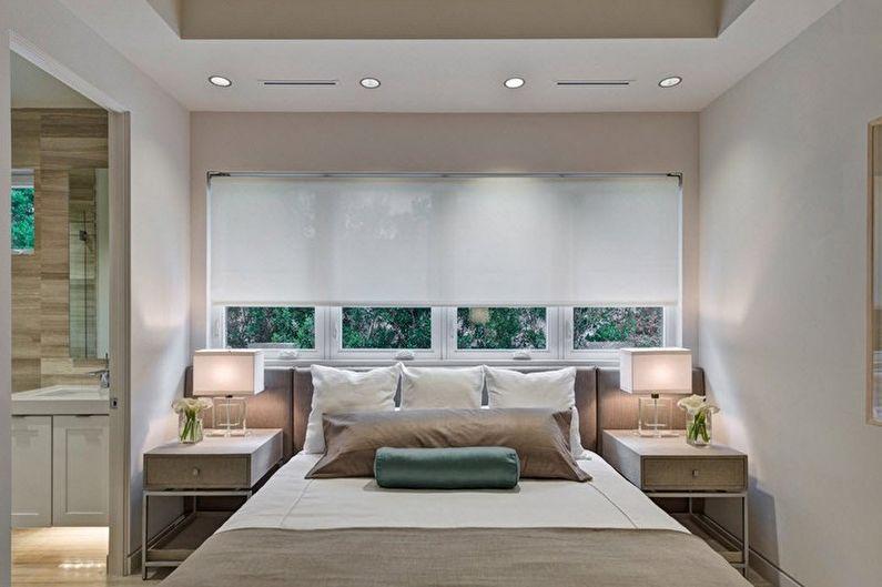 Chambre beige minimalisme - Design d'intérieur