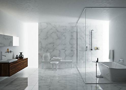 Salle de bain au style minimaliste: idées de design (90 photos)