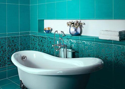 Salle de bain turquoise: 75 idées de photos