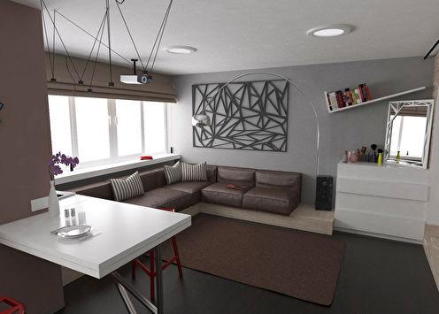 Appartement pour jeune couple, 38 m2