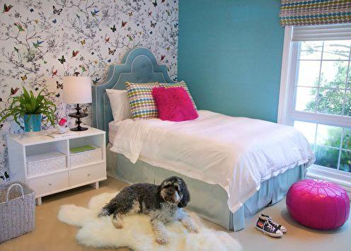 Conception d'une chambre pour une adolescente (65 photos)