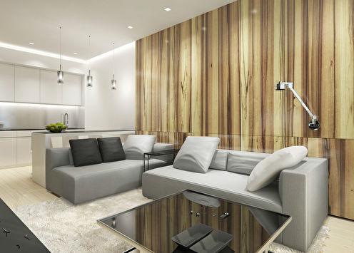 Appartement de style minimaliste, complexe résidentiel Champion Park