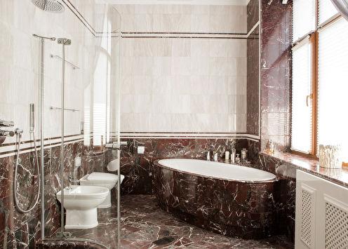 Salle de bain classique intelligente