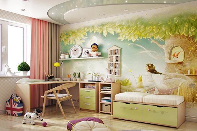 Papiers peints à l'intérieur - Avantages et inconvénients