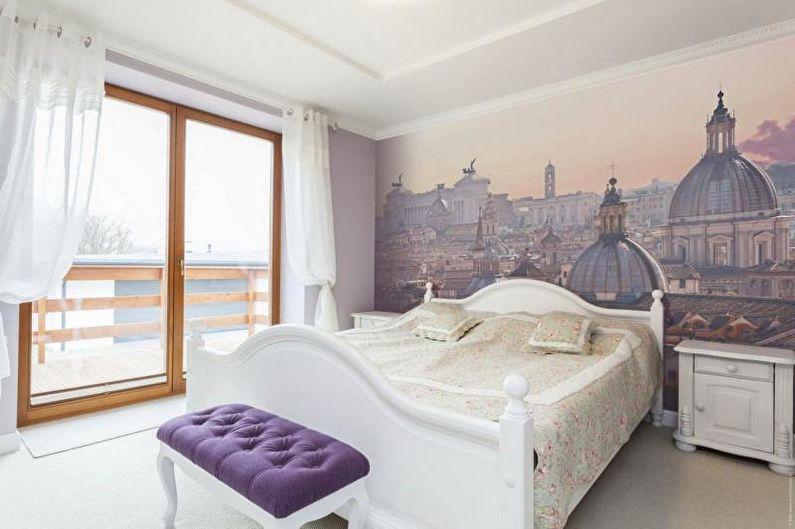 Photo murale à l'intérieur de la chambre - photo
