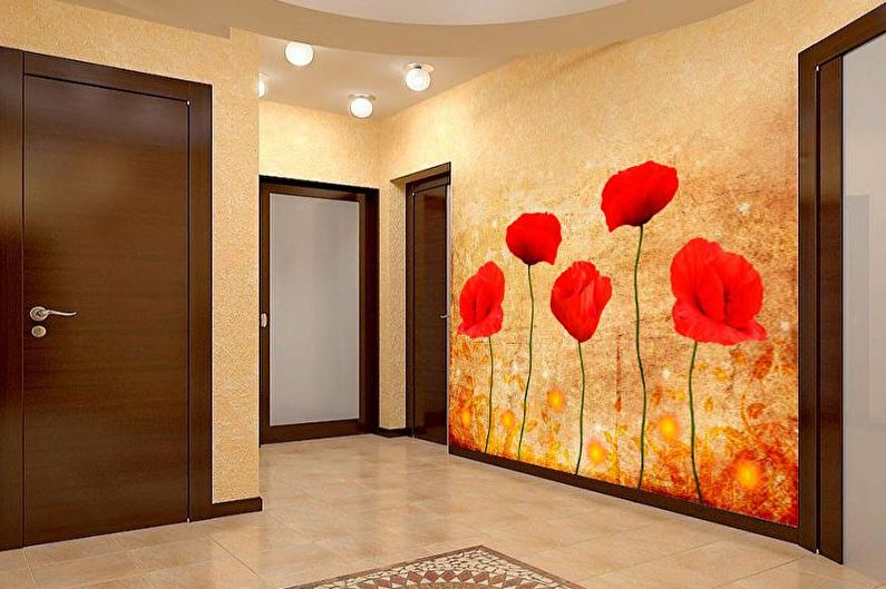 Photo murale à l'intérieur du couloir - photo