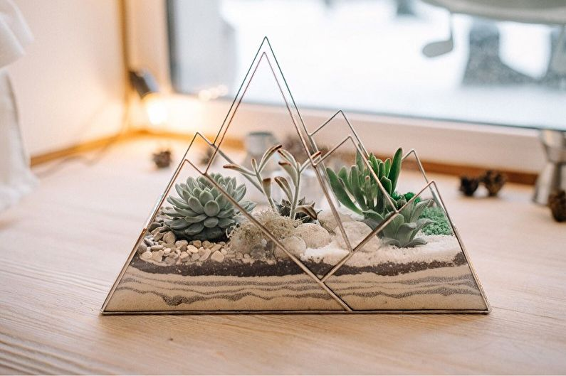 Florarium DIY - Désert