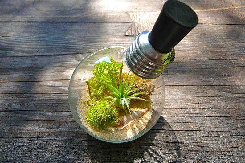 DIY Florarium - Dans une ampoule