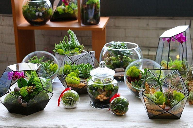 85+ idées de florarium à faire soi-même (photo)