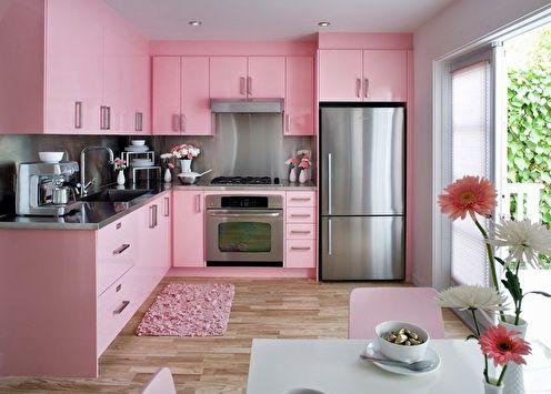Cuisine rose: 80 idées de design