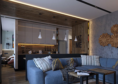 Projet de conception de l'appartement, Irkoutsk