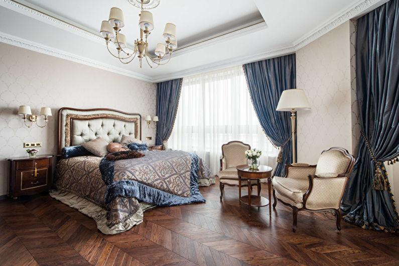 Design de chambre classique - Fini de plancher