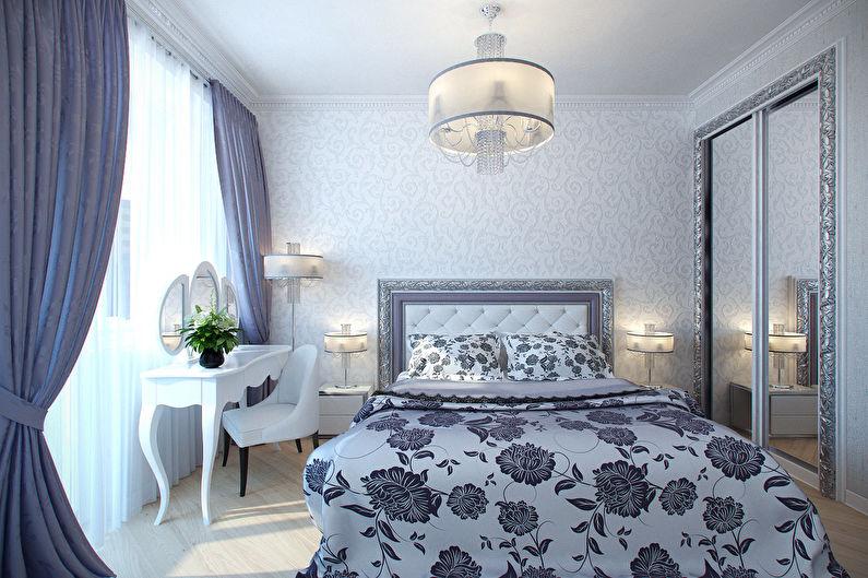 Concevez une petite chambre dans un style classique - Utilisation efficace de l'espace