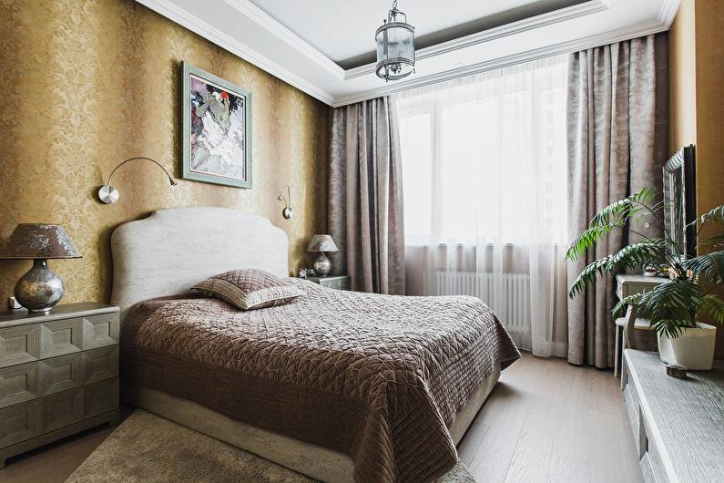 Concevez une chambre dans un style classique (70 photos)
