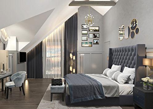 Anthracite: Design de la chambre