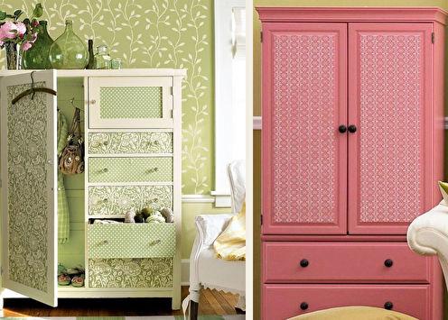 Décoration d'armoire bricolage: 11 idées