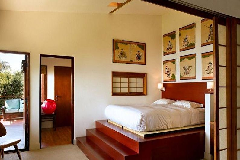 Conception de chambre de style japonais - Meubles