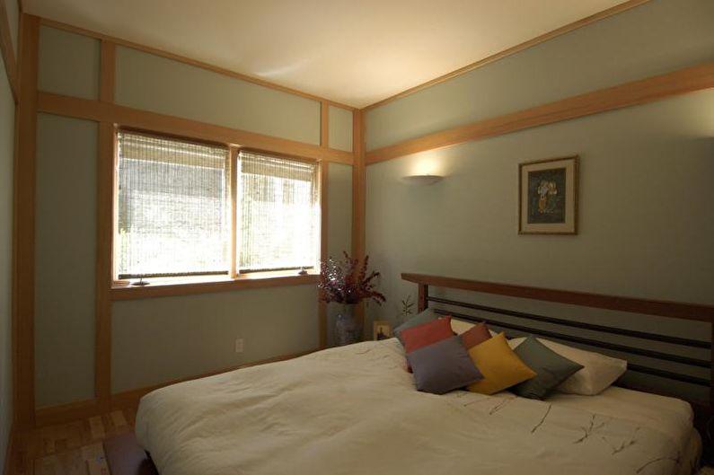 Petite chambre de style japonais - Design d'intérieur