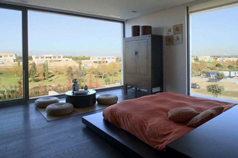 Chambre de style japonais - photo de design d'intérieur