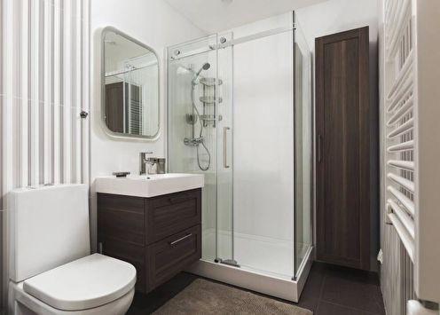 Salle de bain avec douche (85 photos): idées de design