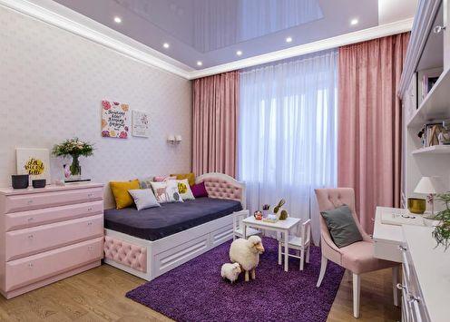 Chambre d'enfant rose: décoration intérieure (80 photos)