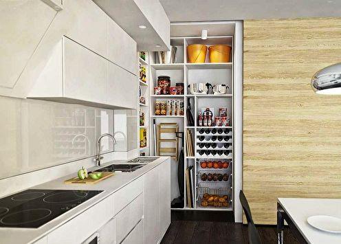 Idées de design pour le garde-manger de l'appartement (70 photos)