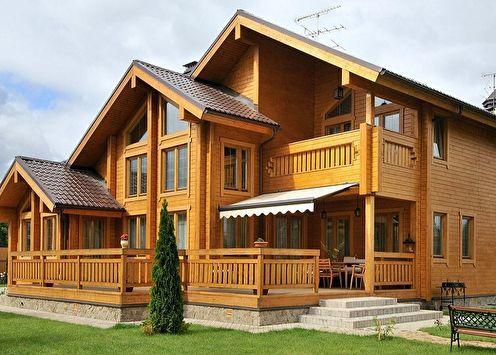 Maisons en bois (80 photos): projets et idées de design