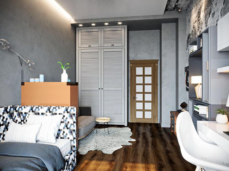 Chambre pour étudiant-étudiant dans le style loft - photo 2
