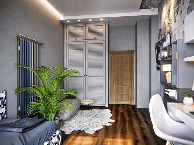 Chambre pour étudiant-étudiant dans le style loft - photo 3