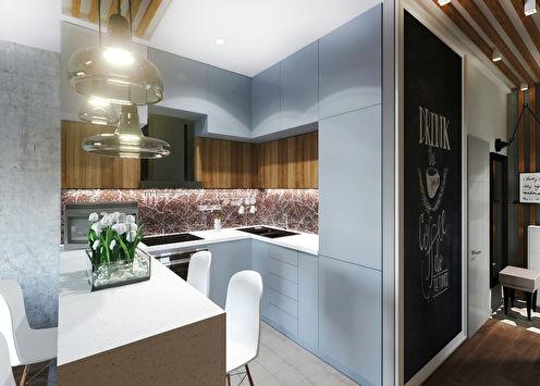 Projet de conception d'un appartement de 47 m²