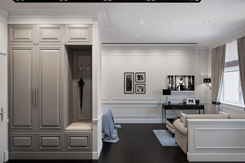 Conception de couloir classique - Gamme neutre