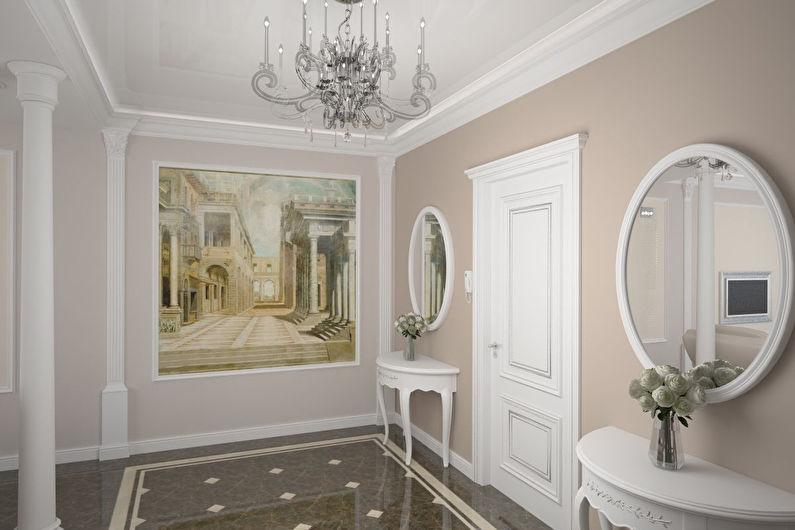 Conception de couloir classique - Fini à plancher