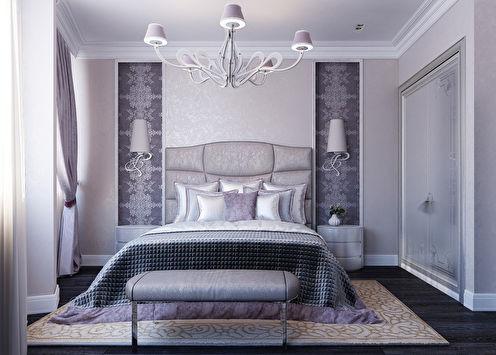 Purple Rhapsody: Chambre Art Déco