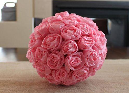 Papier bricolage rose: 90 idées de photos