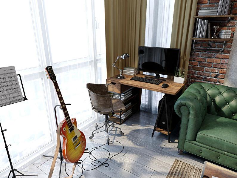 Projet de conception d'un appartement de 26 m² - photo 1