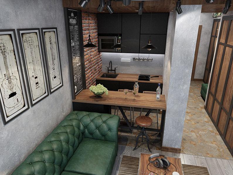 Projet de conception d'un appartement de 26 m² - photo 2
