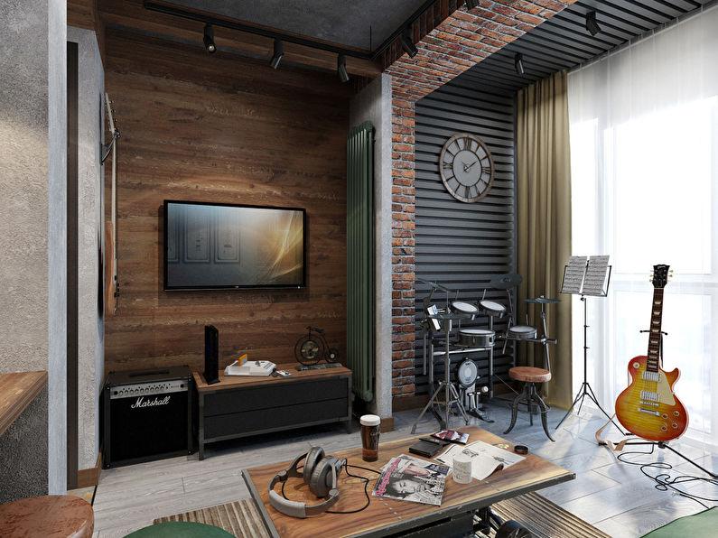 Projet de conception d'un appartement de 26 m² - photo 3