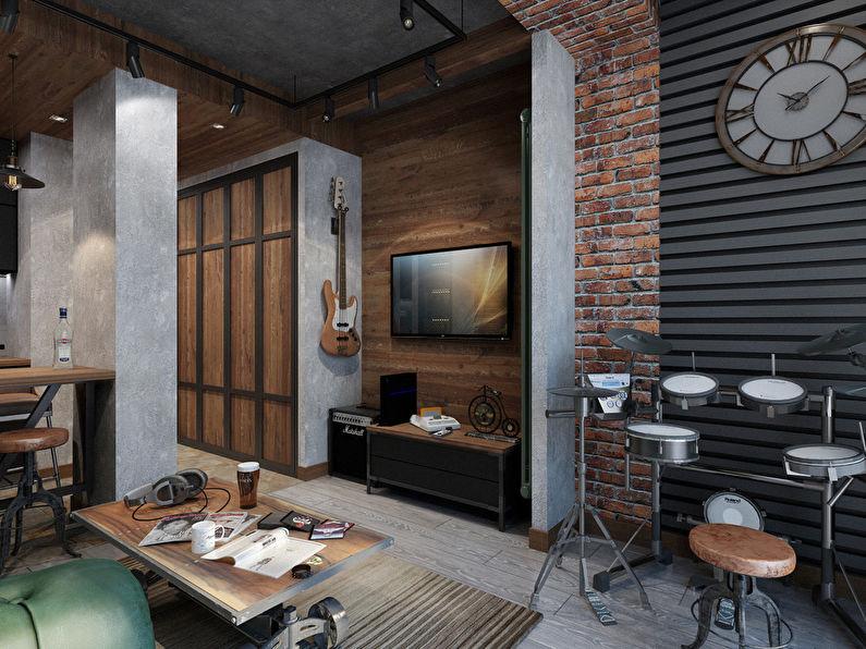 Projet de conception d'un appartement de 26 m² - photo 4