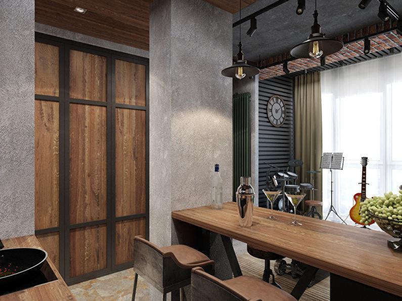 Projet de conception d'un appartement de 26 m² - photo 5