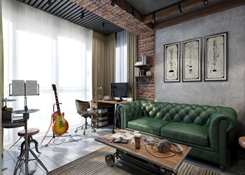Projet de conception d'un appartement de 26 m²