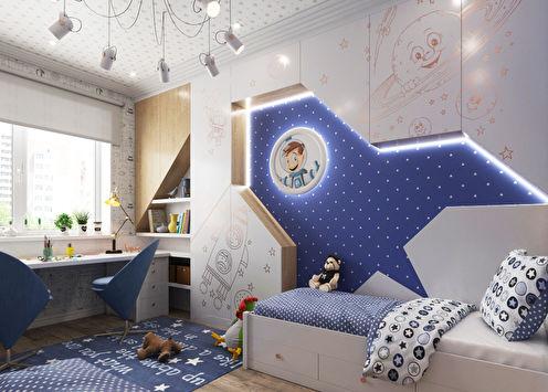 Rocket: Chambre d'enfant pour deux garçons