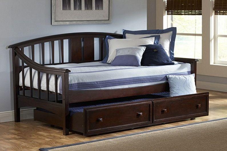 Lits simples - Lit simple avec lit supplémentaire