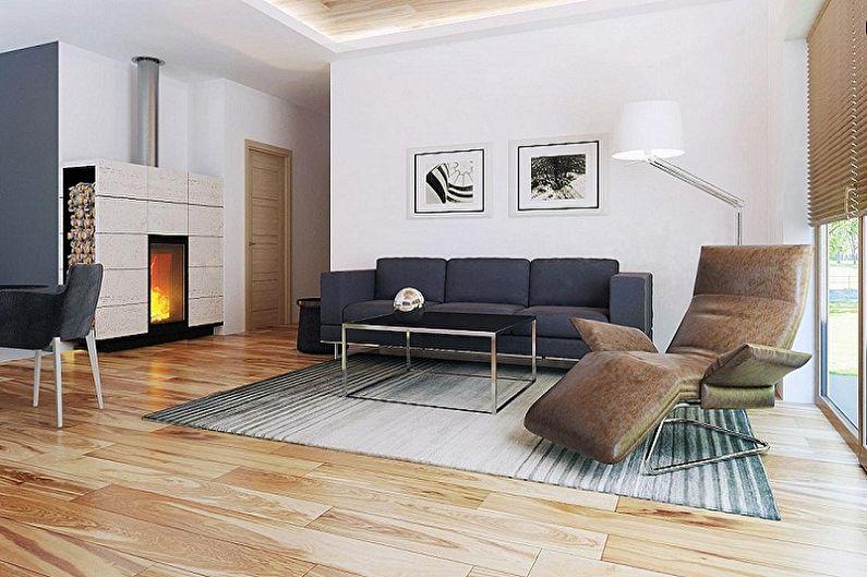 Conceptions de maisons modernes de style high-tech - Petite maison à un étage