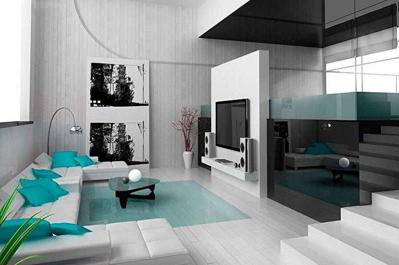 Maisons Hi-Tech - Design d'intérieur