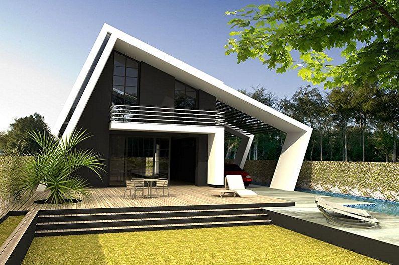 Maisons high-tech - photo et projets