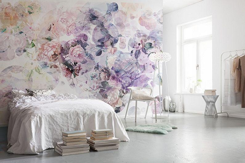 Types de papier peint photo pour la chambre - Selon les matériaux de fabrication