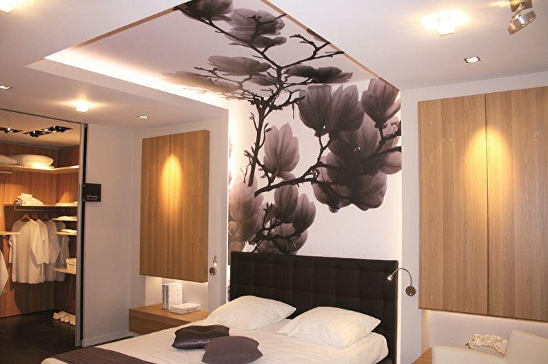 Types de papier peint pour une chambre - Que choisir un revêtement