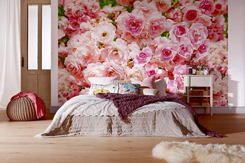 Papiers peints dans la chambre: 60 photos et idées