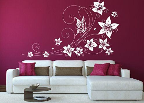 Pochoirs pour murs à peindre: 60 photos et idées
