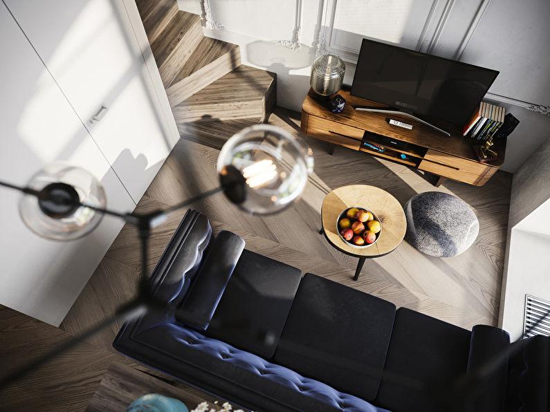 Projet de conception d'un appartement de 24 m2 - photo 1